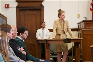 Mock Trial Takes Place at South Boston Trial Court