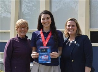 Annabelle Larnard '18 Named Wendy's High School Hesiman Student-Athlete State Finalist