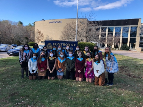 Fontbonne Congratulates Students Inducted into National Honor Society