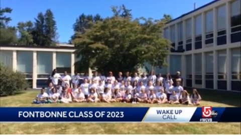 Fontbonne WakeUp Call On WCVB