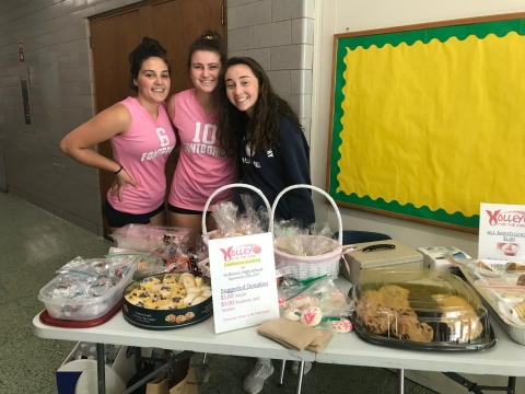 Volleyball Team Raises Money For The