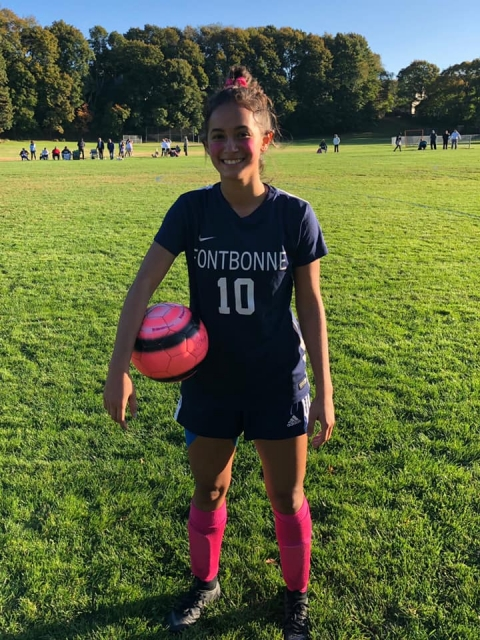 Hegarty Earns Her 100th Career Point In Soccer