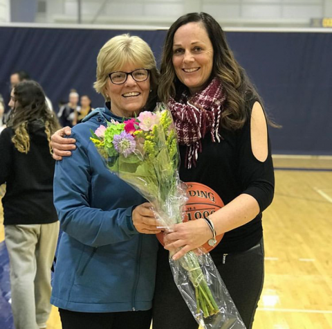 Congratulations to Coach Clare Murphy '87 on winning her 300th career game!