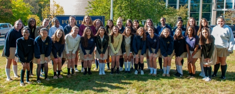 Fontbonne Welcomes Students From France